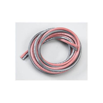 W.S. DEANS COMPANY 1402 Silicone Wire 12-Gauge Red/Black 4'