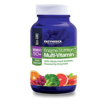 Enzymedica Enzyme Nutrition Multi-Vitamin Women's 50 Plus - 120 Capsules