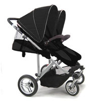 Stroll-Air SM54432B My Duo Double Stroller - Black