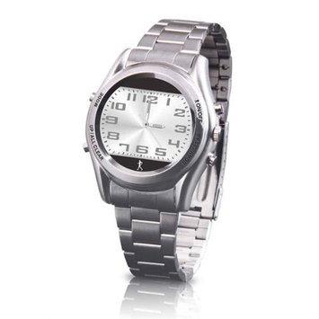 Carepeutic - Hidden Pedometer Gentlemen Dress Watch - Grey