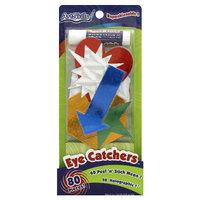 Artskills Eye Catchers Neon & Holographic Shapes, 85/pkg, With Glue Stick