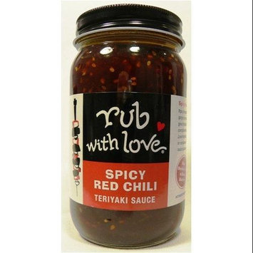 Rub with Love Spicy Red Chili Teriyaki Sauce by Tom Douglas, 16-Ounce