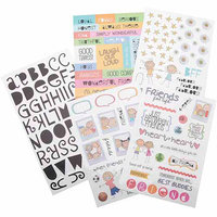 Me & My Big Ideas GVP-26 Glitter Stickers Value Pack