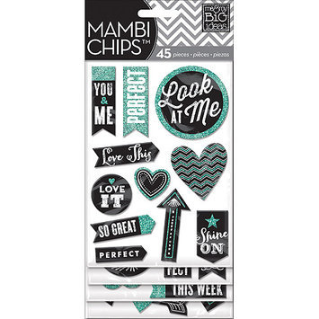 Me & My Big Ideas Chipboard Value Pack-Chalk - Look At Me