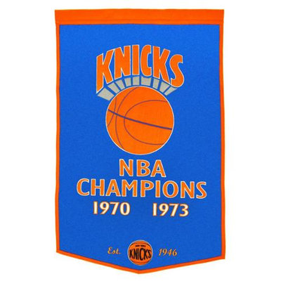 Winning Streak New York Knicks Dynasty Banner
