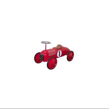 C & N Reproductions Racer Red Push Car