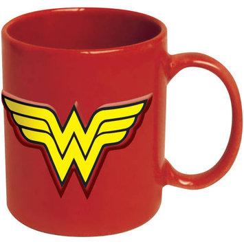 Icup Wonder Woman Logo 20 oz. DC Comics Embossed Mug