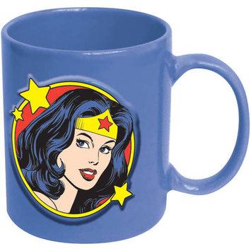 Icup Wonder Woman Face 20 oz. DC Comics Embossed Mug