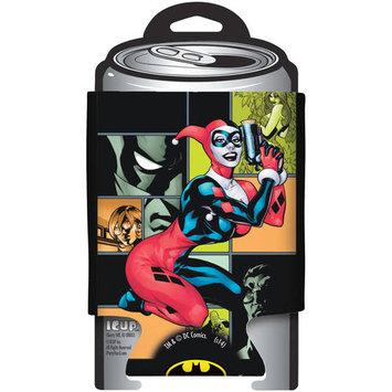 Icup Can Huggers - DC Comics - Harley Quinn Cork Gun New Huggie Koozie 07543