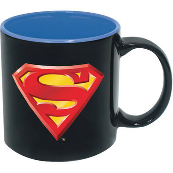 Icup Superman Iridescent 20 oz. Ceramic Mug