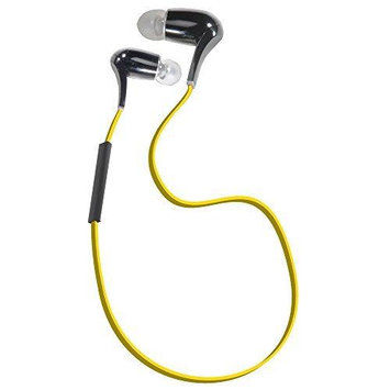NXG Technology NX-BT-SPORTBUDS High Fidelity Stereo Earbuds Btaccs Sport Earbuds Aptx A2dp Yellow