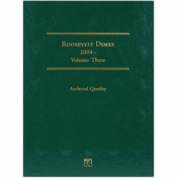 Littleton Roosevelt Dime Folder-2004-2008 Volume 3