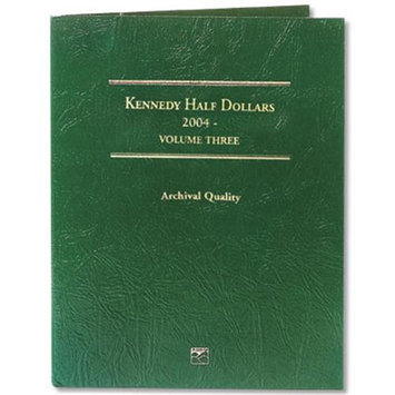Littleton Kennedy Half Dollar Folder-2004-2008 Volume 3