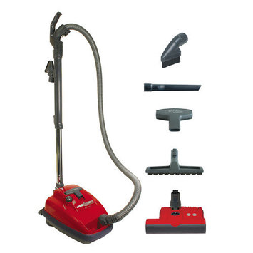 Sebo 9687AM Airbelt K3 Red with ET-1 Vacuum