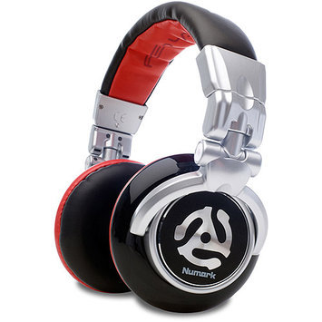 Numark Red Wave DJ Headphones (with Carrying Case)