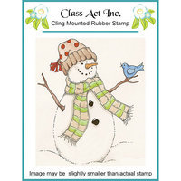 Class-act NOTM323861 - Class Act Cling Mounted Rubber Stamp 2.75
