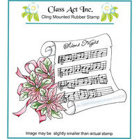 Class-act Class Act Cling Mounted Rubber Stamp 4.25