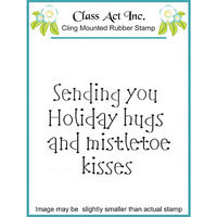 Class-act Class Act Cling Mounted Rubber Stamp 2.75