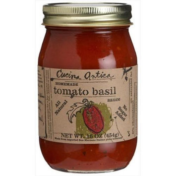 Cucina Antica Tomato Basil Sauce 16 Oz. , Pack of 12