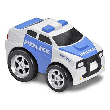 Kid Galaxy Soft and Squeezable Pull Back Police Car KGRH0931
