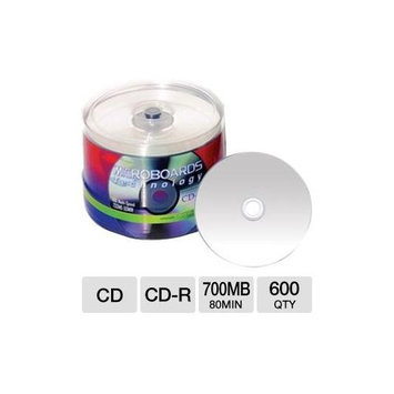 Taiyo Yuden 80 Minute/700MB Cd-R, 52X Silver Inkjet Hub Printable, 100 Disc Spindle