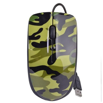 Halo Camouflage 3-Button USB Laser Scroll Mouse w/ Photo/Document Scanner
