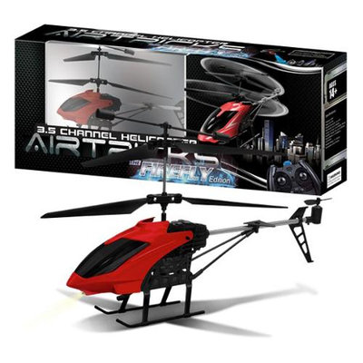 AWW Industries The Firefly Hobby Class 3.5ch Radio Control RC Helicopter - Red