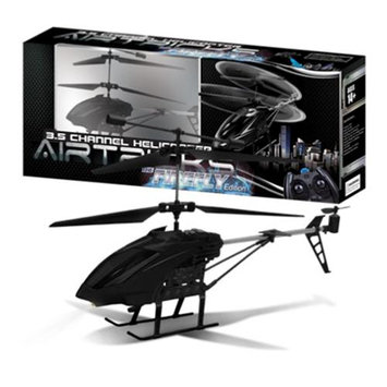AWW Industries The Firefly Hobby Class 3.5ch Radio Control RC Helicopter - Black