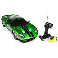 Xstreet 1:10 Licensed Ready to Run Green Ford GT Electric Remote Control 27 Mhz RC Car
