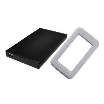 Sabrent EC-UK25 USB 2.0 to 2.5 SATA External Hard Drive Enclosure w/ White Case