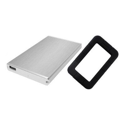 Sabrent EC-US25 USB 2.0 to 2.5 SATA Hard Drive Enclosure w/ Black Case