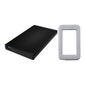 Sabrent EC-UK30 USB 3.0 to 2.5 SSD/SATA Hard Drive Enclosure w/ White Case