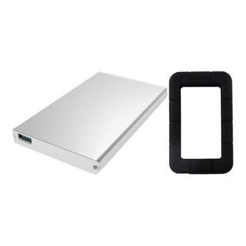 Sabrent EC-UM30 USB 3.0 to 2.5 SATA Hard Drive Enclosure w/ Black Case