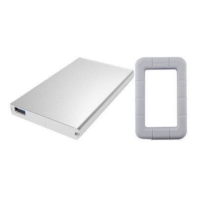 Sabrent EC-UM30 USB 3.0 to 2.5 SATA Hard Drive Enclosure w/ White Case