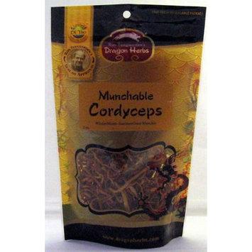 Cordyceps Munchable Dragon Herbs 2 oz. Bag