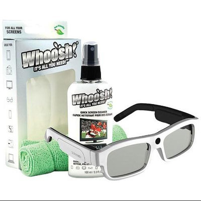 Xpand X104MX1BUNDLE Youniversal 3d Glasses;med White;screen Cleaner 3.5oz