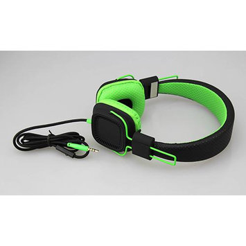 Southern Telecom Deep Bass Headphones BLACK GREEN