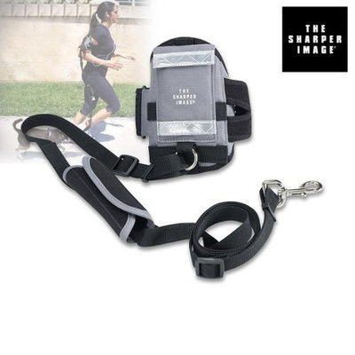 The Sharper ImageA Hands-Free All-In-One Leash Armband