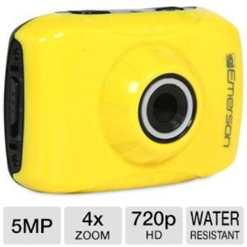 Emerson EVC355YL Action Cam Yellow