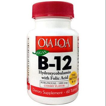 Ola Loa Products Sublingual Hydroxycobalamin B12 - 60 Tablets