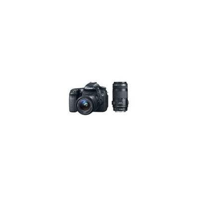 CANON EOS 70D 20.2 MP DSLR with EF-S 18-55mm IS STM and Dual Pixel CMOS AF + Canon 70-300mm f/4.0-5.6 EF IS AF Zoom Lens