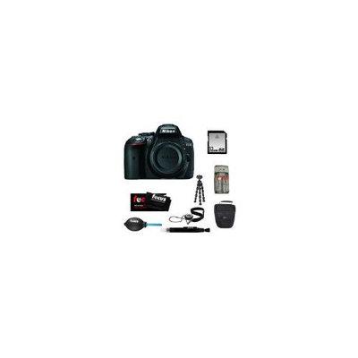 Nikon D5300 24.2 MP CMOS Digital SLR Camera + 32GB SD HC Memory Card + Focus Universal Memory Card Reader + Accessory Kit