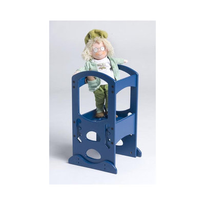 Little Partners Toy Tower in Royal Blue