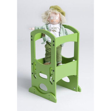 Little Partners Toy Tower in Apple Green