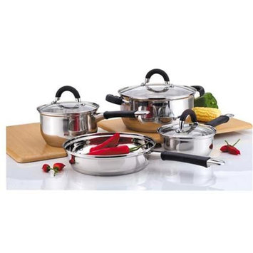 FNTINC 2227 Stainless Steel Cookware Set 7 Pieces