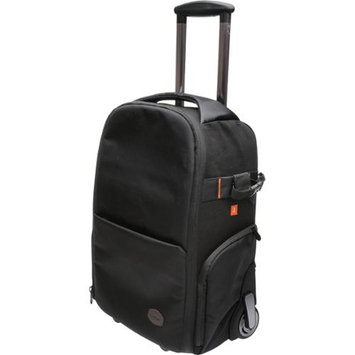 Vivitar Series 1 Trolley DSLR Camera Backpack Case with Wheels (Black)