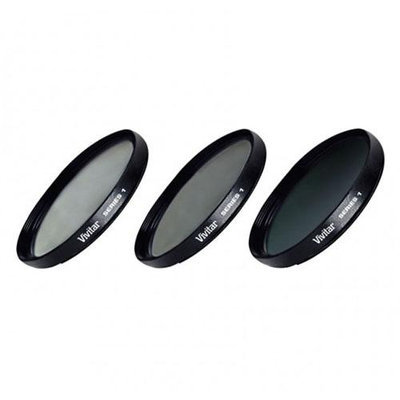 Vivitar UV/CPL/ND Filter Kit - 46mm