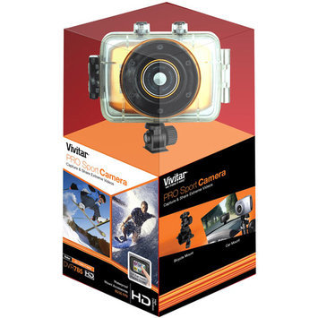 Sakar International, Inc. SAKAR Vivitar Mini 5.1MP Sports Camera Blue DVR785BLU