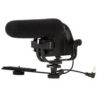 Vivitar Shotgun Condenser Microphone with Bracket & 2 Wind Screens
