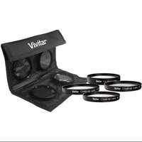 Vivitar Close Up Lens Set (+1,+2,+4,+10) - 49mm